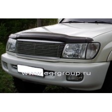 "Дефлектор ""EGR"" для капота (без надписи) Toyota Land Cruiser 100 1998-2007. Артикул 039151"