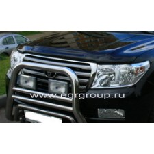 "Дефлектор ""EGR"" для капота Toyota Land Cruiser 200 2007-2015. Артикул 39231"