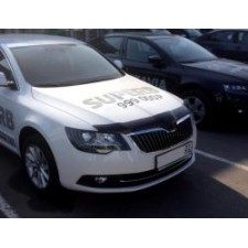 "Дефлектор ""SIM"" для капота Skoda Superb II 2014-2015. Артикул SSCSUP1412"