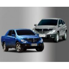 "Дефлектор ""Autoclover"" для капота SsangYong Actyon Sports 2006-2011. Артикул 809.136.847.105"