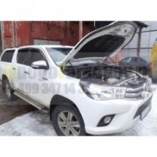 "Амортизаторы (упоры) капота ""A-Engineering"" для Toyota Hilux VIII 2015-2017. Артикул KU-TY-HX08-00"
