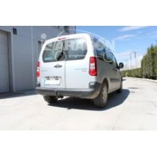 Фаркоп Aragon для Citroen Berlingo II 2008-2017. Артикул E1212BA